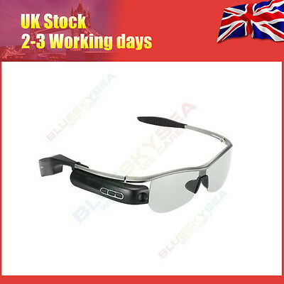 Smart wifi Bluetooth Glasses Photo Video Camera Phone Listern Music For Android