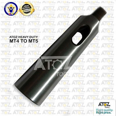 OEM Atoz MT5 to MT4 Adapter Reducing Sleeve Morse Taper 5 to Morse Taper 4