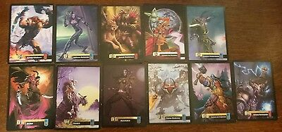 Large Collectable World of Warcraft WoW Trading Cards