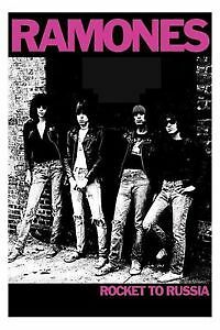 Maxi Poster 61x91.5cm  -  RAMONES ROCKET TO RUSSIA