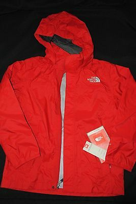 NEW BOYS The North Face Resolve Waterproof RAIN Jacket  SIZE M (10-12) L(14-16)