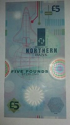 Northern Bank Limited Five Pound Note Issue date 1999