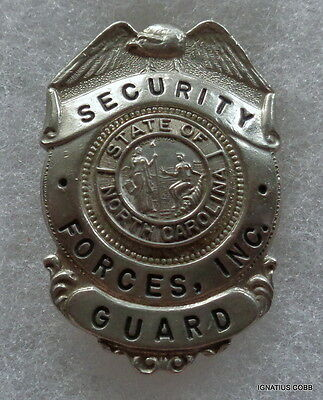 Obsolete Security Forces Guard Badge
