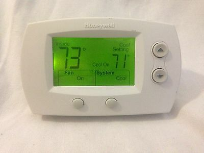 Honeywell TH5320U1001 FocusPRO 5000 Non-Programmable Thermostat - Large Screen,