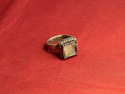 Medieval Silver Ring - 14. Century