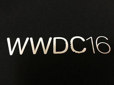 APPLE WWDC 2016 SOFT SHELL JACKET SM Small Black XCode Swift Watch Cocoa CloudKi