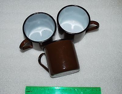 USSR original Russian Military ENAMEL MUG. WW2 type