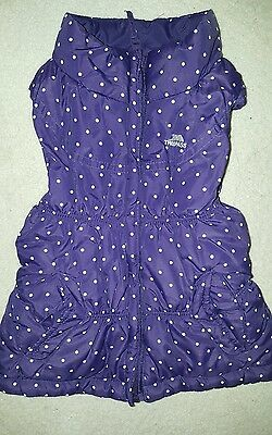 Girls Reversible Trespass Gilet  (Age 3/4) ** A MUST SEE **