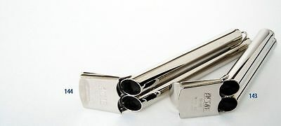 Acme 143 Two Tone Whistle Brass Nickel Plated Small Loud Train NEW