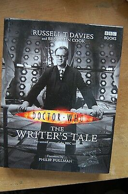 Doctor Who The Writer's Tale. Russell T Davies. Hardback book