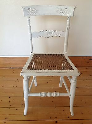 Vintage Wooden Occasional Chair