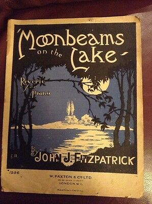 Moonbeams On The Lake Reverie For Piano Sheet Music
