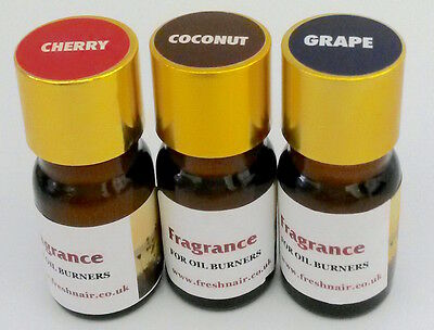 Fragrance Essence x 3 bottles (Coconut Cherry Grape) 100% concentrated