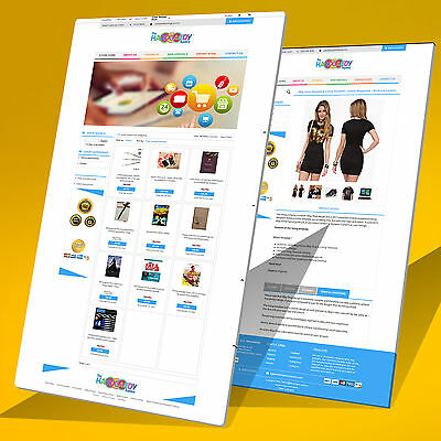Mobile Responsive eBay Store Design & Listing Template 2017 Approved Multi Color