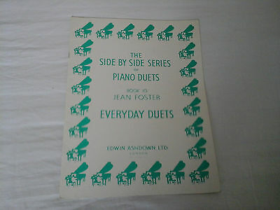 The Side By Side Series Of Piano Duets Sheet Music