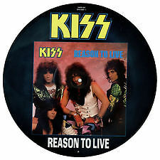 kiss reason to live picture disc stanley simmons eric carr