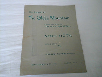 The Legend Of The Glass Mountain Sheet Music