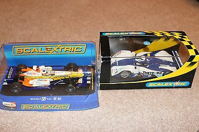 Scalextric Racing Cars x2