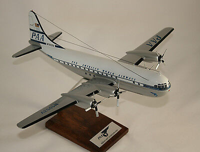 Pan American Boeing 377 Stratocruiser 1:100 Scale Large Desk Top Model
