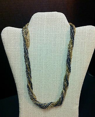 Exquisite Glass Bead Necklace