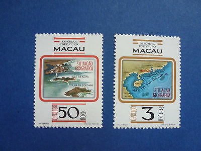 Lot 5109 Timbres Stamp Geographie Macao Macau Annee 1982