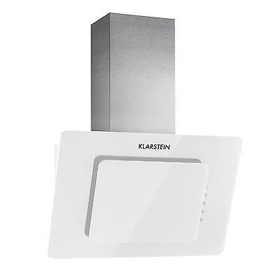 Elegant Extractor Cooker Oven Hood Exhaust Angled 60 Cm Remote White Kitchen Led