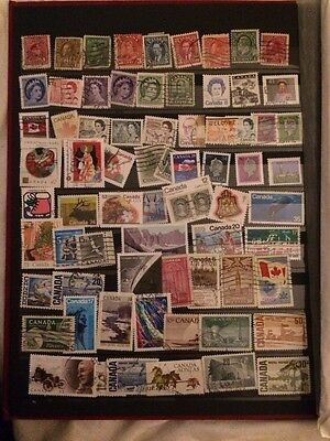 50+ Canadian Stamps