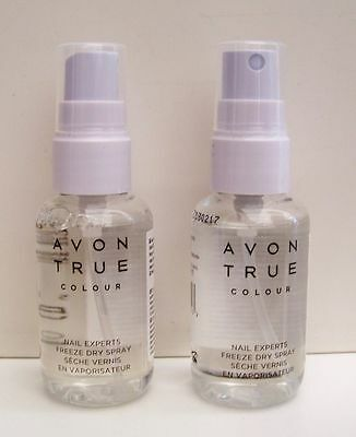 AVON TRUE COLOUR Nail Expert Liquid freeze Quick Dry Spray DRY In 30 Seconds