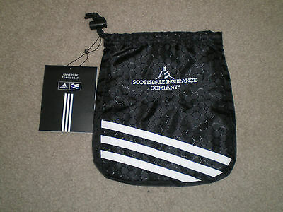 Adidas University Valuables Pouch Scottsdale Insurance New with Tag NWT Black