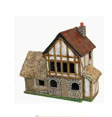 Miniature Building Authority 25mm Corner Double Townhouse/Box - Product Id 10193