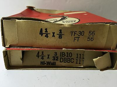 2 Vintage OEM Sealed Power Piston Rings IB-10 DBBC 4 /14x3/32 TF-30 FT 4 1/4x1/8