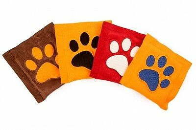 4cats Square Cushion paw – (Single) Catnip toy