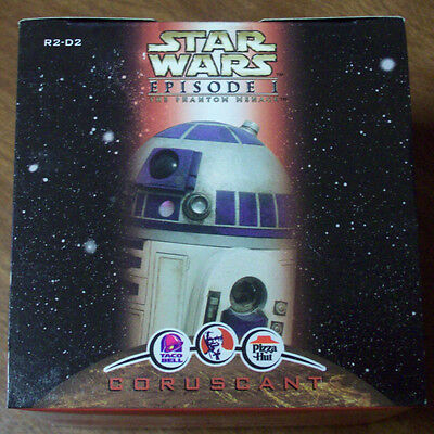 STAR WARS  Episode 1 R2-D2 Coruscant KFC Taco Bell Pizza Hut Toy Action Figurine