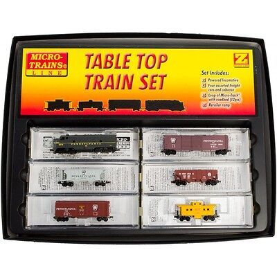 Z Scale Pennsylvania Complete Train Set   New  FREE USPS SHIPPING MSRP 270.95