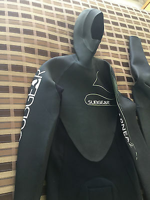 Mens Wetsuit Subgear Apnea Free Diving Or Spearfishing Size Xl-54