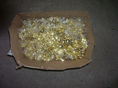 Lot of New Brass Colored Drawer Knobs