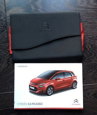 Citroen C4 Picasso Owners Manual - Owners Handbook 2014-2016