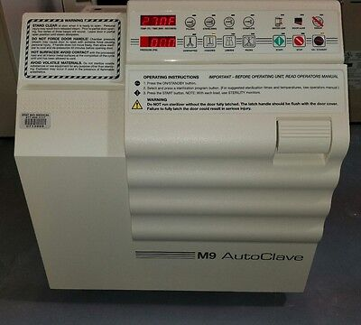 Midmark Ritter M9 Autoclave Ultraclave Sterilizer Automatic Refurbished !!!