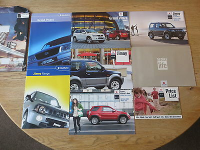 Suzuki Grand Vitara Jimny 2010 Brochures Price Lists etc