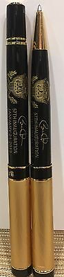 PRES OBAMA 57th INAUGURAL ETCHED Presidential  Seal  PENS USA MADE