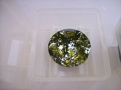 """111 4"""" Silicon Crystal CZ dopant N AS Wafer Polished Wafers Chips Semicondcutor"""