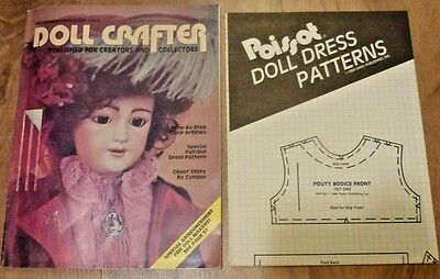 Vintage Doll Crafter Magazine with Patterns November/December 1984 USA
