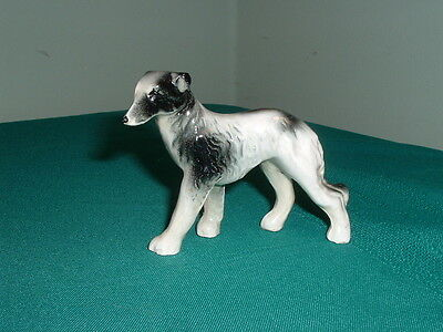 Borzoi Russian Wolfhound Figurine Vintage Made in Japan