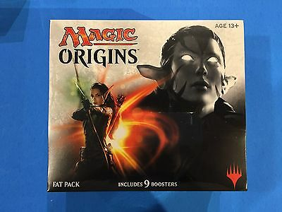 ( ORIGINS ) Fat Pack box - 9 Boosters - Sealed New! - Magic the gathering MTG