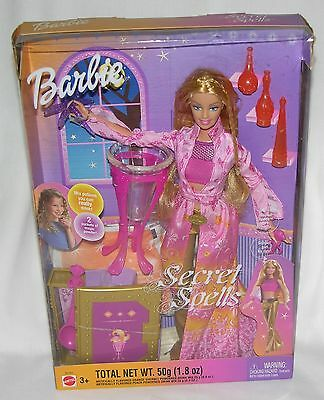 Collector Must Have!! 2003 Secret Spells Barbie Pagan/Wicca Doll Mattel Mistake!
