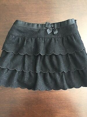janie and jack 3T black holiday skirt