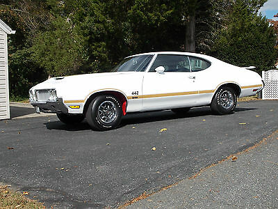 1970 Oldsmobile 442 W-30 RARE 1970 Oldsmobile 442 W-30 w/W-27 Diff.100% #'s Matching 1 of 355 (video)