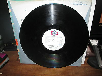 "The Temptations "" Look What U Started"" Motown Promo Copy"