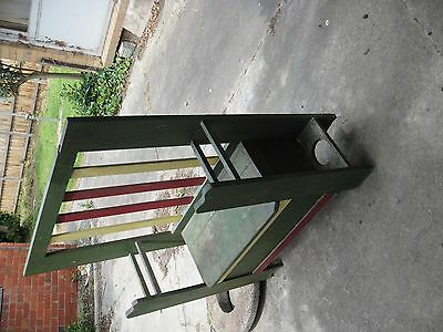 Vintage Hall stand 1940s wooden