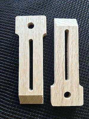 Red Oak Wood Hold Down Clamps Woodworking CNC Router Inventables